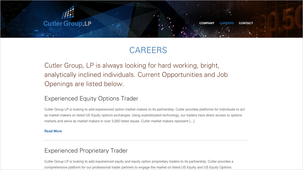 Cutler_Careers