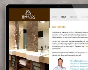 G-MAX Website